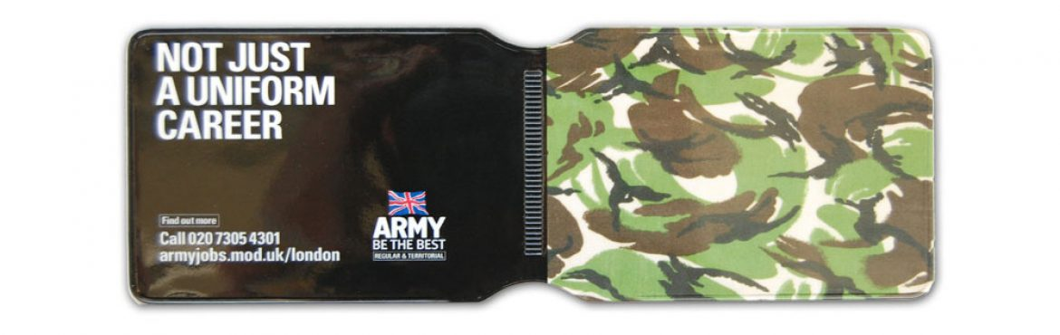 Army oyster card holder