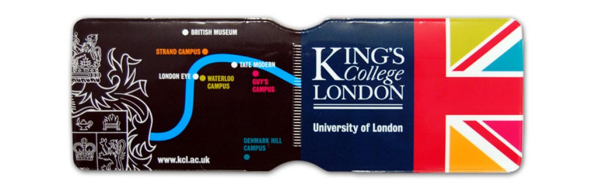 Kings College oyster card holder