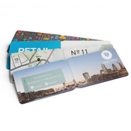 printed travel walllets