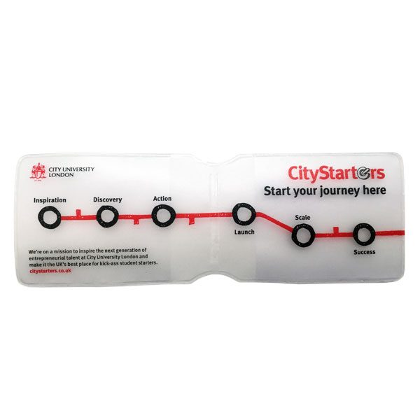 Transparent travel wallet